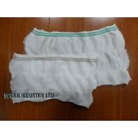 Quality Warp Knitting S, M, L Disposable Incontinence Pants Maternity Mesh Pants For Women for sale