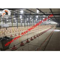 China Barbados Poultry Farming Floor Raising System & Broiler Deep Litter System with Automatic Feeding Pan & Nipple Drinker wholesale