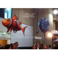 China Funny PVC Inflatable Products , Inflatable Flying RC Air Swimmers Clown Fish wholesale