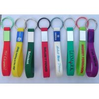 China Silicone key ring on sale