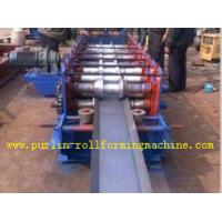 China Galvanized Automatic Seamless Gutter Machine , Rain Gutter Roll Forming Machinery wholesale