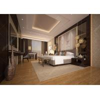China Customized Luxury Hotel Bedroom Furniture High Density Form Classical Style wholesale