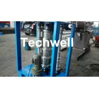 China Steel Coil Sheet Metal Bending Machine For Curved Arch Roofing Sheet ,  Auto Crimping Curved Machine wholesale