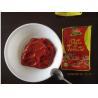 China Taste Delicious Canned Tomato Paste , Tomato Sauce For Pasta 12 - 14% Brix wholesale