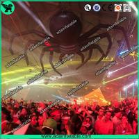 China Halloween Event Advertising Black Inflatable Spider Giant Inflatable Animal wholesale