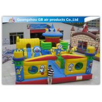 China Interesting Happy Family Inflatable Fun City Park Blow Up Bouncy Castle For Big Kids wholesale