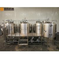 China Simple Clean Beer Brewing System 2B Finished Surface With 1000L Brite Tank wholesale