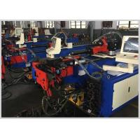Buy cheap PLC Control Electric Pipe Bending Machine with teo Axis driving Tube Bending from wholesalers