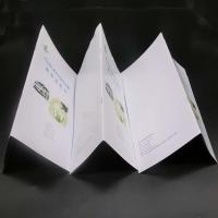 Buy cheap Offset Paper Saddle Stitched Booklet With Glossy / Matte Lamination from wholesalers