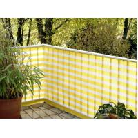 China Hdpe Yellow And White Balcony Shade Net With UV Resistant OEM wholesale