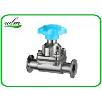 China Hygienic Sanitary Diaphragm Valve , SS Diaphragm Valve For Pharmaceutical Industry wholesale