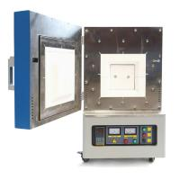 China Desktop 1400C Laboratory Electric Oven , PID Control Scientific Muffle Furnace Fast Heating on sale