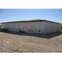 China Well Camp Refugee Container Prefabricated Construction With Toilet Shower wholesale