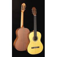 China Handcrafted Matt Solidwood Spruce Wood Classical Guitar cupronickel frets TP-CG15 wholesale
