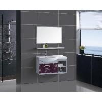 China Stainless Steel Bathroom Furniture / Cabinet / Vanity (F-3073) wholesale