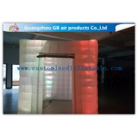 China Cool Portable Cube Led Photo Booth Inflatable Decorative Lighting UV Resistant wholesale