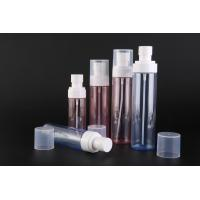 China PET Plastic Cosmetic Spray Bottles / Pump Spray Bottle Custom Printing Or Labeling on sale