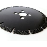 China OEM / ODM Vacuum Brazed Diamond Blades , Diamond Saw Blades For Concrete wholesale