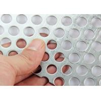 China 1-3mm Thickness Customized Perforated Sheet Metal Mesh Discounted Price on sale