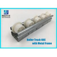 China Slider Roller Track Type 40C Width 40mm Metal Frame for Conveyors and Flow Rack wholesale