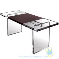 China acrylic glass table wholesale