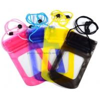 China 0.3mm Vinyl Small Waterproof Case Light Weight With High Frequency Welded Technics wholesale