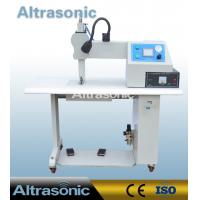 China 35Khz Ultrasonic Seamless Sealing Machine with 12mm Titanium Wheel for Welding wholesale