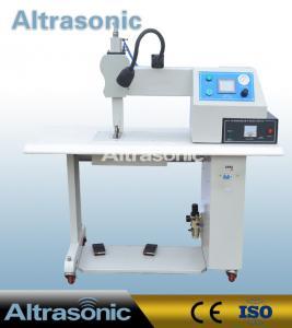 China 35Khz Ultrasonic Seamless Sealing Machine with 12mm Titanium Wheel for Welding wholesale