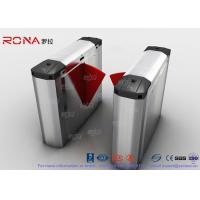 China 304 Stainless Steel Heavy Duty Automatic Flap Barrier Turnstile For Entrance & Exit Control System wholesale