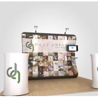 Buy cheap Anti UV Tension Fabric Display System Retractable Trade Show Displays from wholesalers