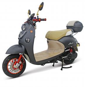 China 800W Electric Street Motorcycle / Drum Brake Electric Power Motorcycle wholesale