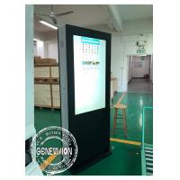 China Temperature Control Advertising LCD Digital Signage Touch Screen Kiosk Monitor With HDMI Input wholesale