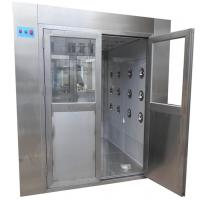China Medical Class 100 Stainless Steel Air Shower Clean Room Laboratory wholesale