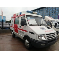 China customizd IVECO brand diesel ambulance car for sale, High quality and best price IVCEO hospital first-aid ambulance car on sale