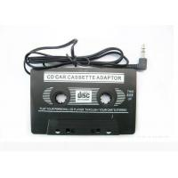 China CD Car Audio Cassette Adapter With  3.5mm Audio Headphone Jack wholesale