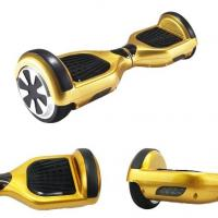 China Gold Mini 2 Wheel Electric Standing Scooter 250W Stand On Scooter With 2 Wheels wholesale