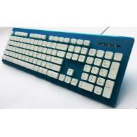 China ABS 104 Keys Computer Wired Gaming Keyboard , Mechanical Light Up Keyboard wholesale