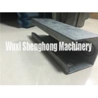 China Metal C shape Purlin Roll Forming Machine Anti-rust Roller Long Life wholesale