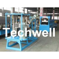 China 17 Forming Stations Stationary K Span Roll Forming Machine With PLC wholesale