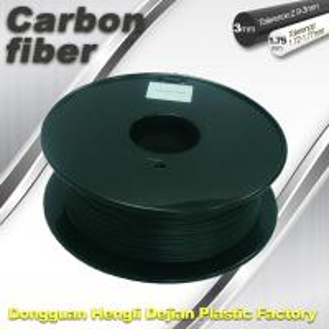 Quality CarbonFiber 3D Printing Filament  .Black Color,0.8kg / Roll ,1.75mm 3.0mm for sale
