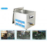 China 600W Heating Power Ultrasonic PCB Cleaner With Heater 30L 500W wholesale