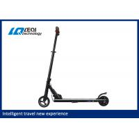 China 250w powerful back motor simple Aluminum foldable electric scooter wholesale