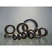 China GCr15 Angular Contact Ball Bearing 10mm - 200mm ID Range With Single / Double Row wholesale