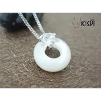 China Fashion Jewelry 925 Sterling Silver Necklace with Zircon W-VD161 wholesale