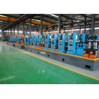 China PLC Control HF ERW Steel Pipe Mill Machine Cold Saw With 120m / Min Speed wholesale