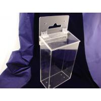 China Wall Mounted Clear Durable 3mm Acrylic Storage Boxes for Office Waterproof wholesale