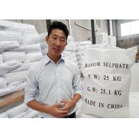 China HS code 2833270000 Micronized Barium Sulfate Powder Industrial With High Affinity wholesale
