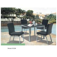 China 5-piece resin wicker rattan outdoor patio dining set for 4 people-8183 wholesale
