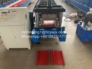China Plc Self Lock 15m/Min 3p Roof Sheet Rolling Machine wholesale