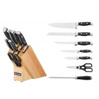 China Multifunction Knife Block Set Equipment With Scissors And Knife Sharpener wholesale